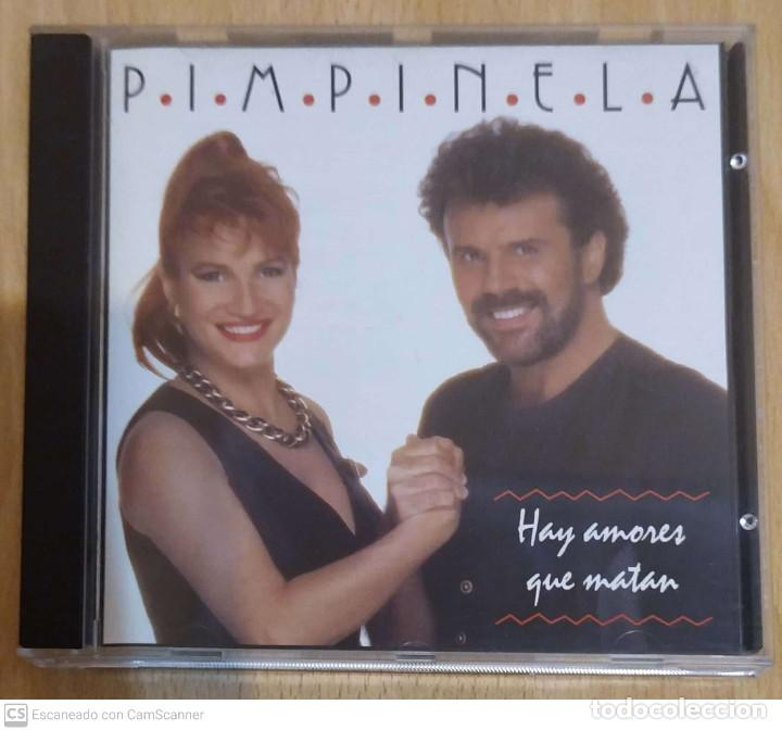 PIMPINELA (HAY AMORES QUE MATAN) CD 1993 (Música - CD's Melódica )