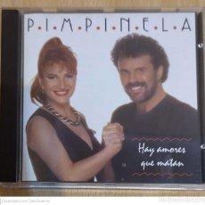 CDs de Música: PIMPINELA (HAY AMORES QUE MATAN) CD 1993. Lote 263181930