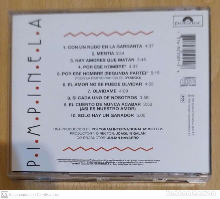 CDs de Música: PIMPINELA (HAY AMORES QUE MATAN) CD 1993 - Foto 2 - 263181930
