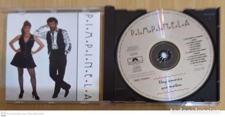 CDs de Música: PIMPINELA (HAY AMORES QUE MATAN) CD 1993 - Foto 3 - 263181930