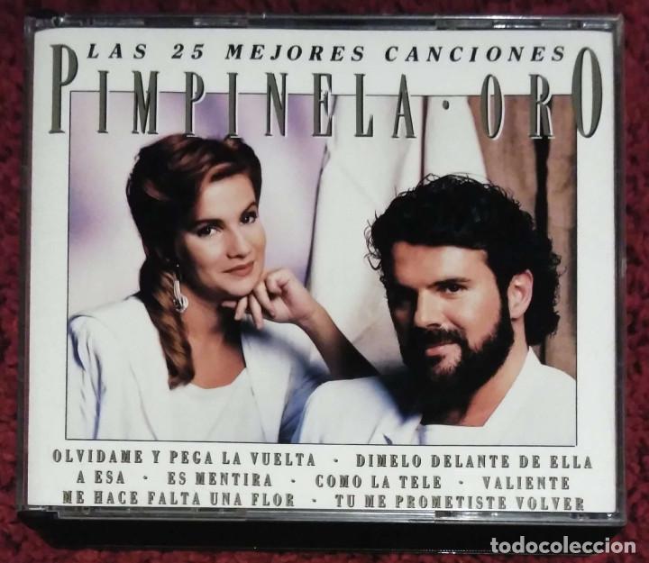 PIMPINELA (ORO - LAS 25 MEJORES CANCIONES) 2 CD'S 1993 (Música - CD's Melódica )