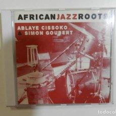 CDs de Música: ABLAYE CISSOKO & VOLKER GOETZE - AFRICAN JAZZ ROOTS. Lote 214138438