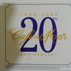 CDs de Música: CAFÉ DEL MAR - 20TH ANNIVERSARY. Lote 214138870