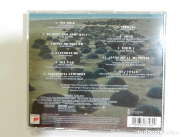 CDs de Música: HANS ZIMMER - DUNKIRK - Foto 3 - 214138972