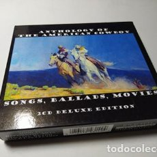 CDs de Música: CD - MUSICA - ANTHOLOGY OF THE AMERICAN COWBOY - SONGS, BALLADS, MOVIES. - 2CDS. Lote 214153383