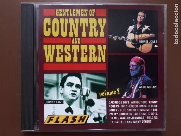 GENTLEMEN OF COUNTRY AND WESTERN. VOLUME 2 (Música - CD's Country y Folk)