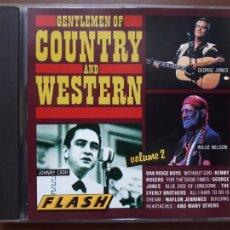 CDs de Música: GENTLEMEN OF COUNTRY AND WESTERN. VOLUME 2. Lote 214159675