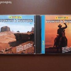 CDs de Música: BEST OF COUNTRY AND WESTERN VOL. I Y VOL. II. Lote 214159917