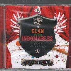 CDs de Música: EL CLAN DE LOS INDOMABLES - CARNAVAL 2009. COMPARSA DE BARBATE / CD SIN ABRIR. RF-7201. Lote 214160667