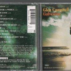 CDs de Música: GLEN CAMPBELL - GALVESTON / CD ALBUM DE 2001 RF-7203. Lote 214161058