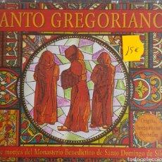 CDs de Música: CANTO GREGORIANO CORO DE MONJES DEL MONASTERIO BENEDICTINO DE SANTO DOMINGO DE SILOS 2 CDS.. Lote 214174716