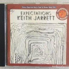 CDs de Música: KEITH JARRET - EXPECTATIONS. Lote 214221933