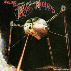 CDs de Música: BSO: LA GUERRA DE LOS MUNDOS (WAR OF THE WORLDS) - CD ALBUM - 9 TRACKS - SONY MUSIC - AÑO 1981. Lote 214250095