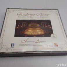 CDs de Música: EMBRUJO CLÁSICO GRANDES COMPOSITORES ESPAÑOLES 2 CD'S. Lote 214250672