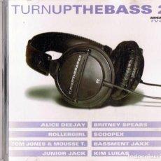 CDs de Música: TURN UP THE BASS 2 (CD). Lote 214265268