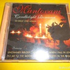 CDs de Música: MANTOVANI / CANDLELIGHT ROMANCE / 20 GREAT LOVE SONGS / SPECTRUM MUSIC / CD. Lote 214269205