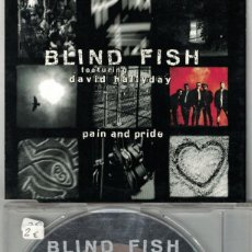 CDs de Música: BLIND FISH - PAIN AND PRIDE/ENDLESS SUMMER/CONFESSION (CDSINGLE CAJA, SCOTTI BROS 1993). Lote 214275743