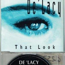 CD de Música: DE 'LACY - THAT LOOK (FOUR VERSIONS) (CDSINGLE CAJA, VENDETTA RECORDS 1996). Lote 214278820