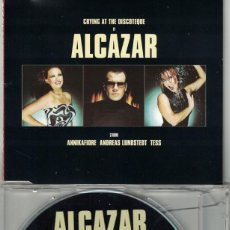 CDs de Música: ALCAZAR - CRYING AT THE DISCOTEQUE (FOUR VERSIONS) (CDSINGLE CAJA, VALE MUSIC 2001). Lote 214282153