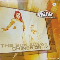 CDs de Música: MILK INC - DANCE ELECTRÓNICA - THE SUN ALWAYS SHINES ON TV - CD PROMOCIONAL - 2003. Lote 214300217