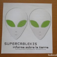 CDs de Música: SUPERCABLEKIS INFORME SOBRE LA TIERRA: FUNDAMENTALMENTE INOFENSIVA. Lote 214302158