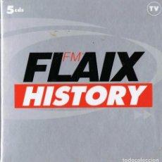 CDs de Música: FLAIX FM HISTORY ( 5 CD´S). Lote 214323701