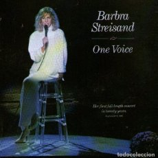 CDs de Música: BARBRA STREISAND - ONE VOICE - CD ALBUM - 13 TRACKS - CBS RECORDS - AÑO 1987. Lote 214334162