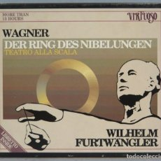 CDs de Música: CAJA 14 CD. WAGNER. DER RING DES NIBELUNGEN. WILHELM FURTWÄNGLER. Lote 214379950