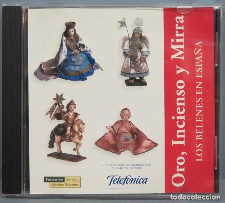 CD. ORO INCIENSO Y MIRRA. LOS BELENES EN ESPAÑA (Música - CD's Otros Estilos)