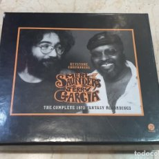 CDs de Música: MERL SAUNDERS JERRY GARCIA - THE COMPLETE 1973 5 CDS+POSTER. Lote 214385830