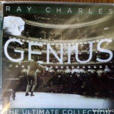 CDs de Música: RAY CHARLES GENIUS ULTIMA COLECCIÓN PRECINTADO. Lote 214387711