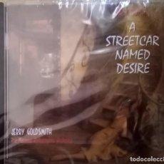 CDs de Música: UN TRANVIA LLAMADO DESEO DE JERRY GOLDSMITH PRECINTADO. Lote 214389875