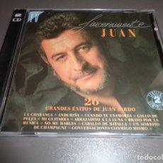 CDs de Música: JUAN PARDO / SINCERAMENTE JUAN / GRANDES ÉXITOS / LO MEJOR DE / HISPAVOX / 2 CD. Lote 214420196