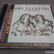 CDs de Música: LOS SECRETOS / LA CALLE DEL OLVIDO + 4 BONUS TRACKS / DRO EAST WEST / CD. Lote 214421151