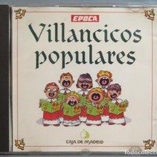 CDs de Música: CD. VILLANCICOS POPULARES. EPOCA. Lote 214422628