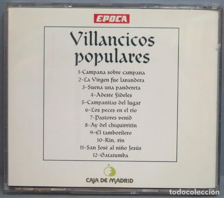 CDs de Música: CD. VILLANCICOS POPULARES. EPOCA - Foto 2 - 214422628