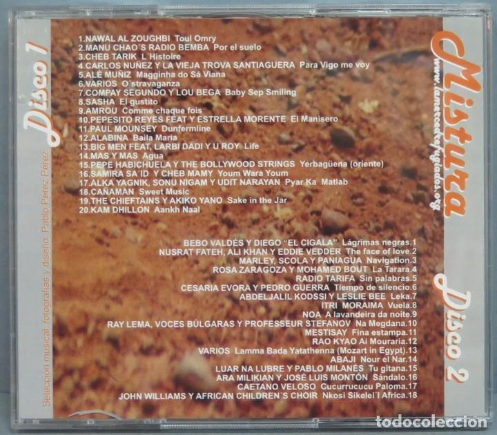 CDs de Música: CD. MISTURA. UNA CASA ABIERTA AL MUNDO. 3 - Foto 2 - 214422698
