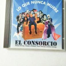 CDs de Música: LO QUE NUNCA MUERE - EL CONSORCIO. Lote 214347855