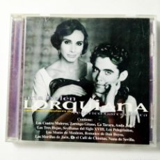 CDs de Música: LORQUIANA - CANCIONES POPULARES DE FEDERICO GARCÍA LORCA - ANA BELÉN. Lote 214347856