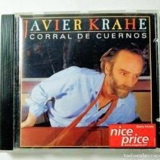CDs de Música: CORRAL DE CUERNOS - JAVIER KRAHE. Lote 214347870