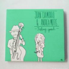 CDs de Música: FEELING GOOD - ANDREA MOTIS, JOAN CHAMORRO. Lote 214347901