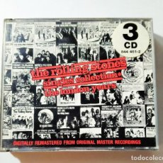CDs de Música: SINGLES COLLECTION - THE LONDON YEARS - THE ROLLING STONES. Lote 214348255