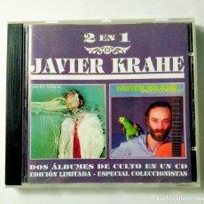 CDs de Música: VALLE DE LÁGRIMAS / APAREJO DE FORTUNA - JAVIER KRAHE. Lote 214347893