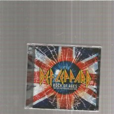 CDs de Música: DEF LEPPARD ROCK OF AGES COLLECTION. Lote 214462495