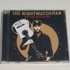 CDs de Música: THE NIGHTWATCHMAN / CD / ONE MAN REVOLUTION. Lote 214470210