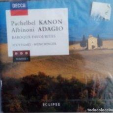 CDs de Música: CANON DE PACHELBEL Y ADAGIO DE ALBINONI Y MUCHOS MÁS PRECINTADO. Lote 214473501