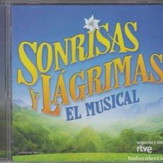 CDs de Música: SONRISAS Y LÁGRIMAS CD EL MUSICAL 2012 ORQUESTA Y CORO DE RTVE. Lote 214486495