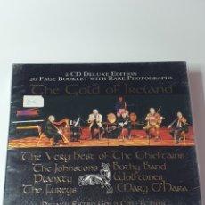 CDs de Música: 2 CD DELUXE EDITION, THE GOLD OF IRELAND, DEJA UN RETRO GOLD COLLECTION.. Lote 214506212