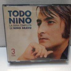 CDs de Música: CD TODO NINO LA OBRA COMPLETA DE NINO BRAVO 3 CDS. Lote 214552306