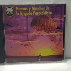 CDs de Música: CD HIMNOS Y MARCHAS DE LA BRIGADA PARACAIDISTA 1996. Lote 214552787